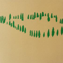 Toskana, Öl auf Leinwand, 100 x 100cm